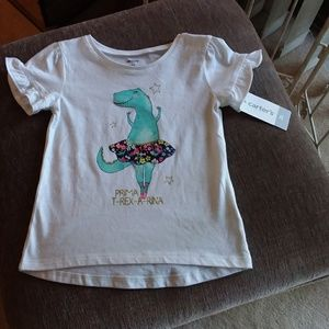 NWT Carter's Girls Top